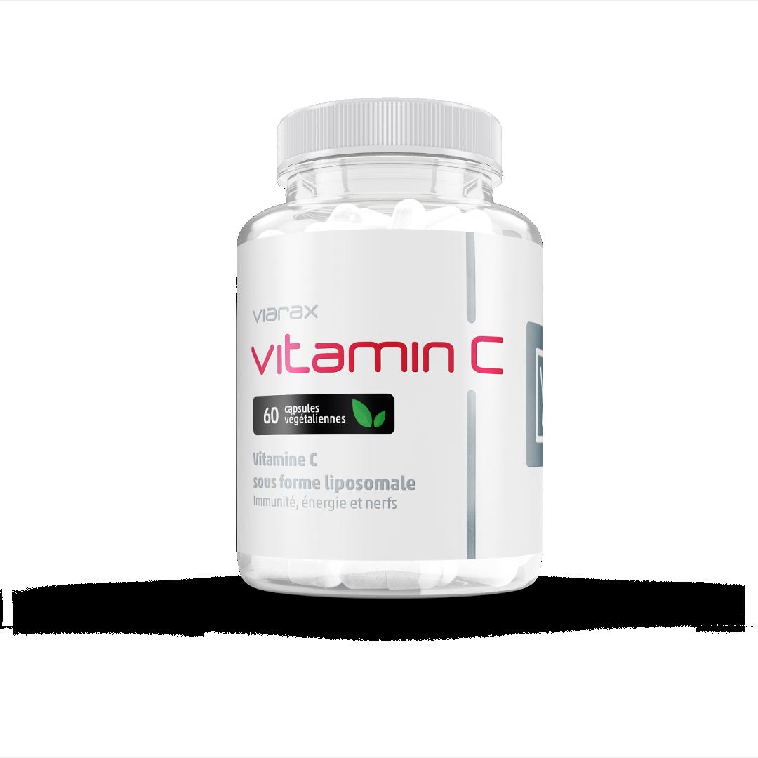 Viarax La vitamine C liposomale + des bioflavonoïdes